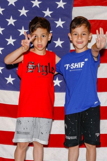 Red Kids No Sleeve T  Shirt  STYLE