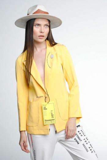Yellow Blazer Jacket LIMITED