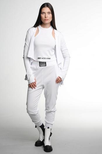White  Three Piece Cotton Set STYLE
