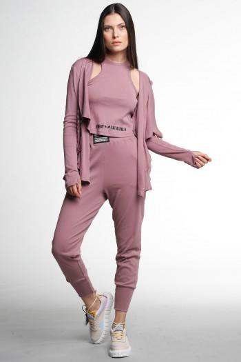 Pink Three Piece Cotton Set STYLE