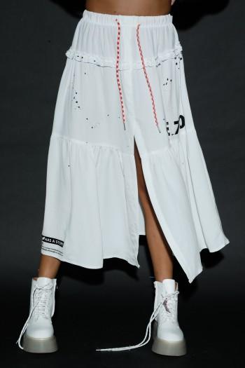 White Maxi Skirt STORY
