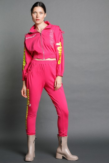 Pink Two Piece pullover Set TUNED