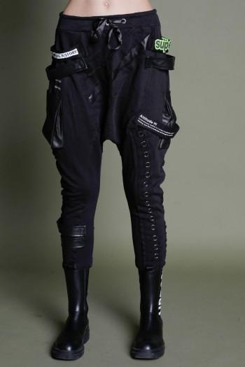 Black Jogger Baggy Pants ATTITUDE