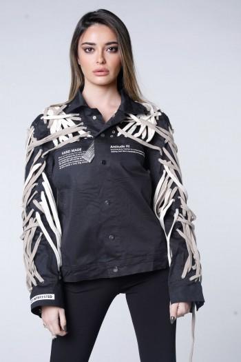 Unique Design Black Jacket NOT