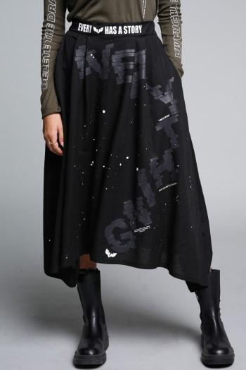 Black Midi Skirt EVERY