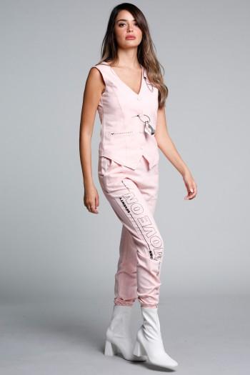 Pink Color Two Piece Set SEVEN