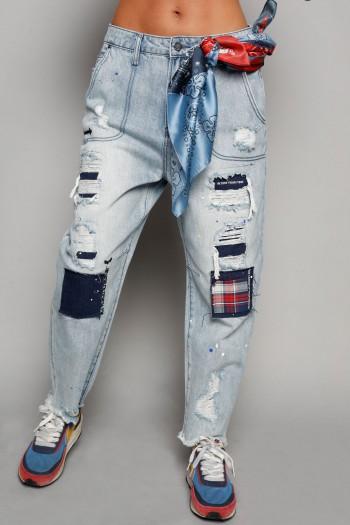 Blue Denim Pants STREET