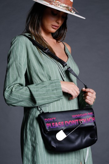 Black  Purse Side Bag PLEASE