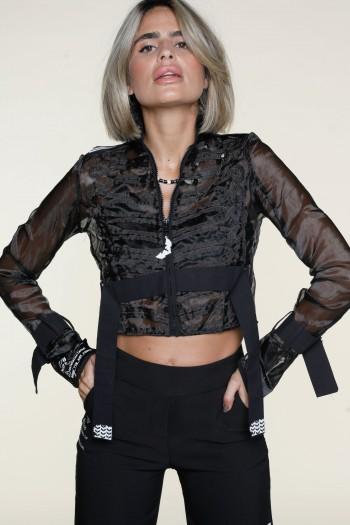 Black Sheer Jacket ADDICTED