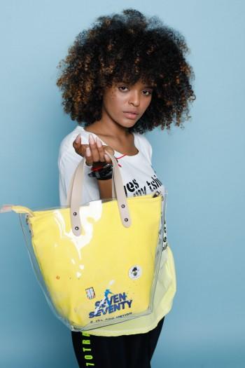 Yellow Hand Bag SEVEN