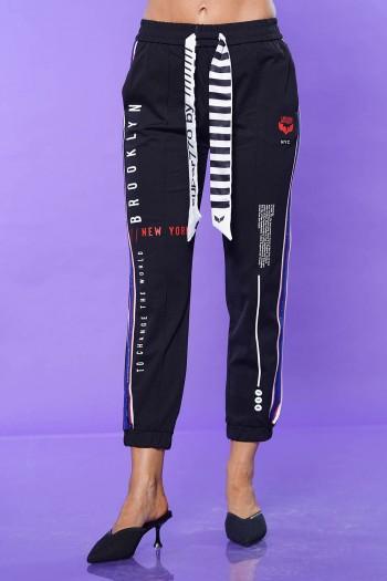 Designed Black Jogger Pants BROOKLYN