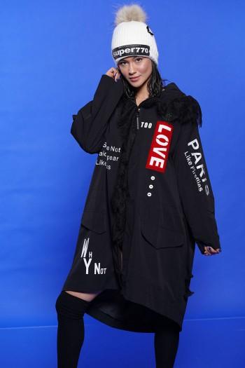 Black Coat PARIS LOVE