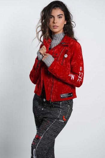 Red Velvet Jacket DREAM