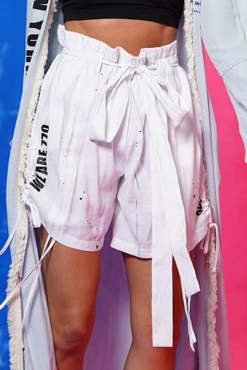 White Short Pants SIMPLIFY