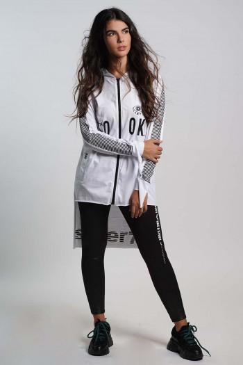 Designed White Tunic Look