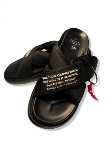 Black Color Designed Slides X