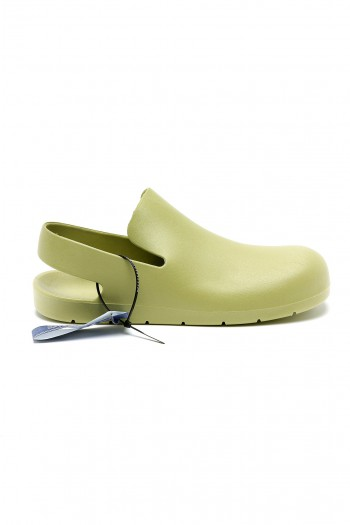 Mint Green Color Designed Slides SEVEN
