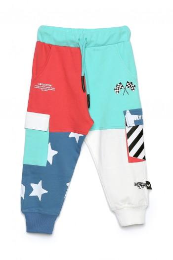 Kids Designed Colorful Jogger Pants USA