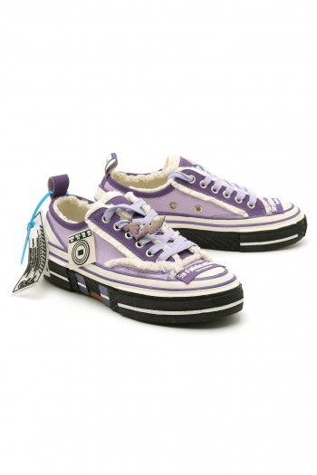 Purple Low Cut Sneakers STAR