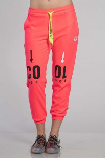 Designed Orange Jogger Pants COOL