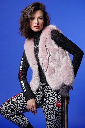 Lilach Faux Fur Vest EDUCTION
