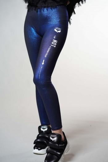Bright Blue Leggings AM NOT