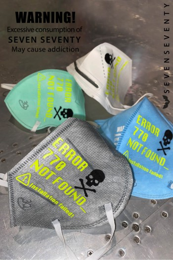 Four Colors Designed KN95 and PM 2.5 Masks STYLE