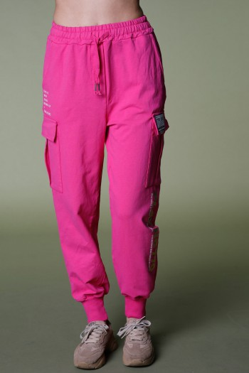 Designed Pink  Pullover Joggers PLAYING
