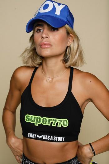 Black Crop Bra SUPER770