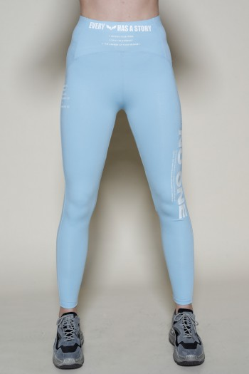 Designed Light Blue Leggings NO ONE