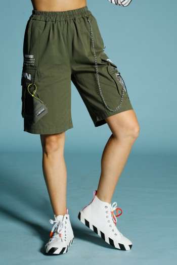 Olive Green Cargo Pants BE HERE