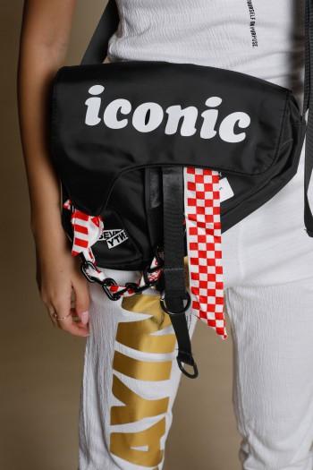 Black  Purse Side Bag ICONIC