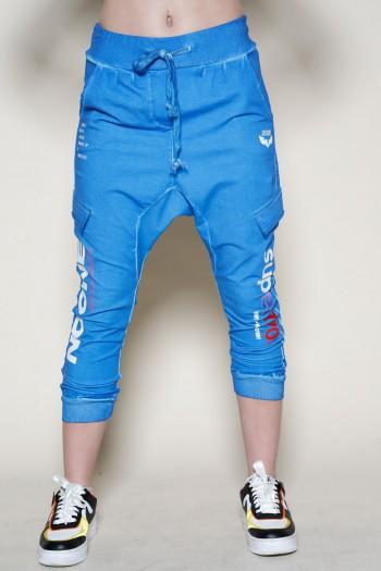 Designed Blue Pullover Baggy Joggers SUPER 770