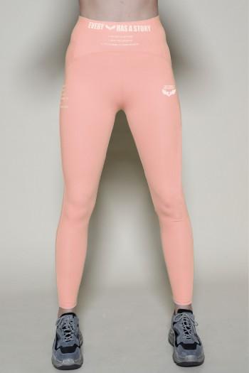 Designed Baby Pink  Leggings NO ONE