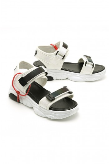 White Color Sandals LIMITED