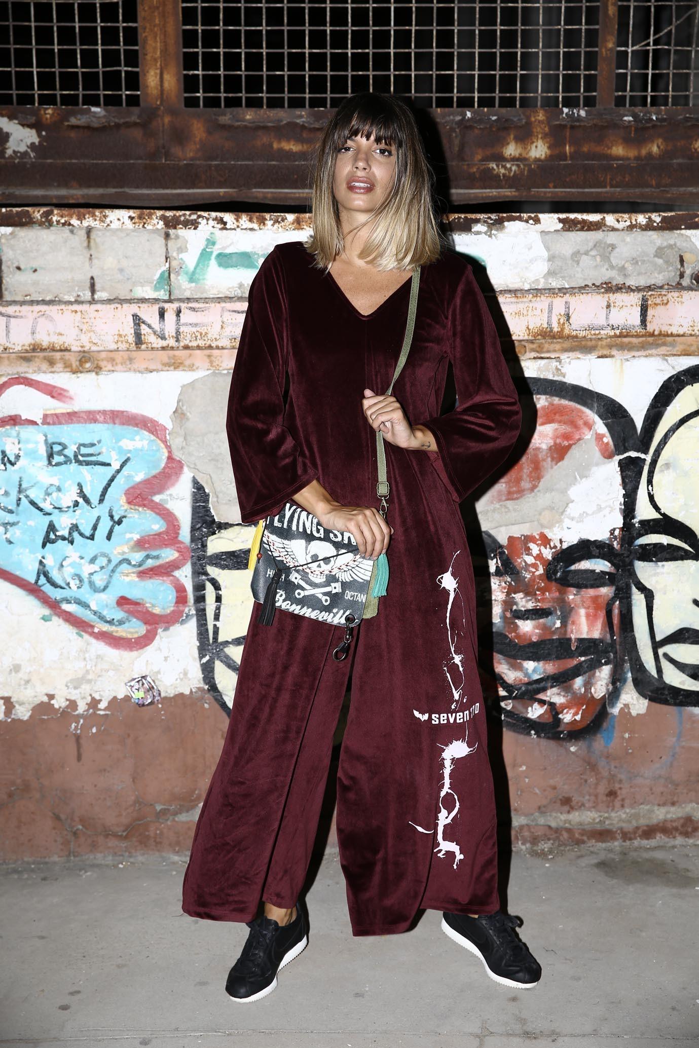 787e4f39cd Burgundy Velvet Overall Suit ART - GRAND SALE